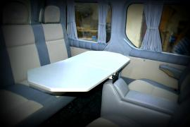 A table van, a table for Vito Vivaro traffic T5 Viano