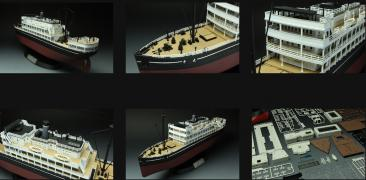 Assembled model airplanes, ships, tanks BestModels