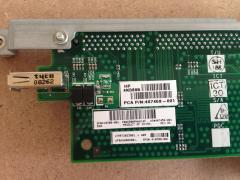 Board backplane for bl460c and HP E200i W