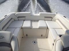 Boat with inboard engine