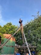 Cleaning, bogging, digging from scratch krynytsya at Khmelnitsky