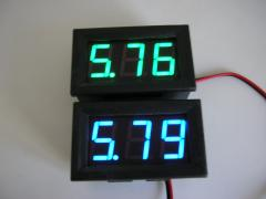 Digital voltmeter dc4-30v(blue and green)