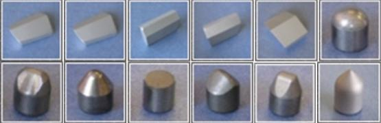 Пластини твердосплавні для бурового інструменту НПП Інтерсплав