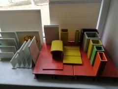 Профілі склопластикові конструкційні пултрузійний будівель