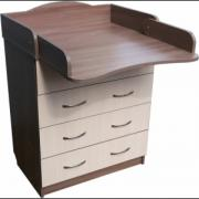Promotion! Set: Dresser+ crib pendulum Natalka+ mattress + bed. New