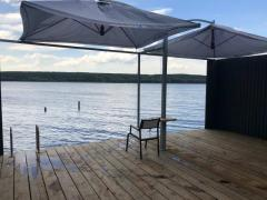 rent a gazebo on the water .and gazebo near the water