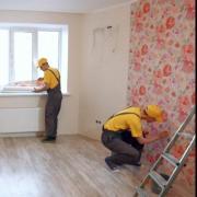 Repair of apartments, plaster, drywall, laying tile