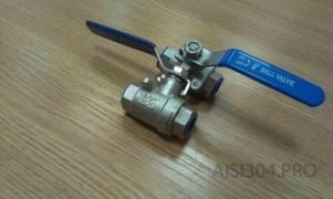 Stainless steel coupling valve DN 15 (1/2) AISI 304