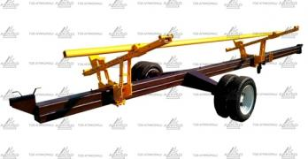 Uniaxial trolley for grain harvesters from 6 to 9 meters, buy